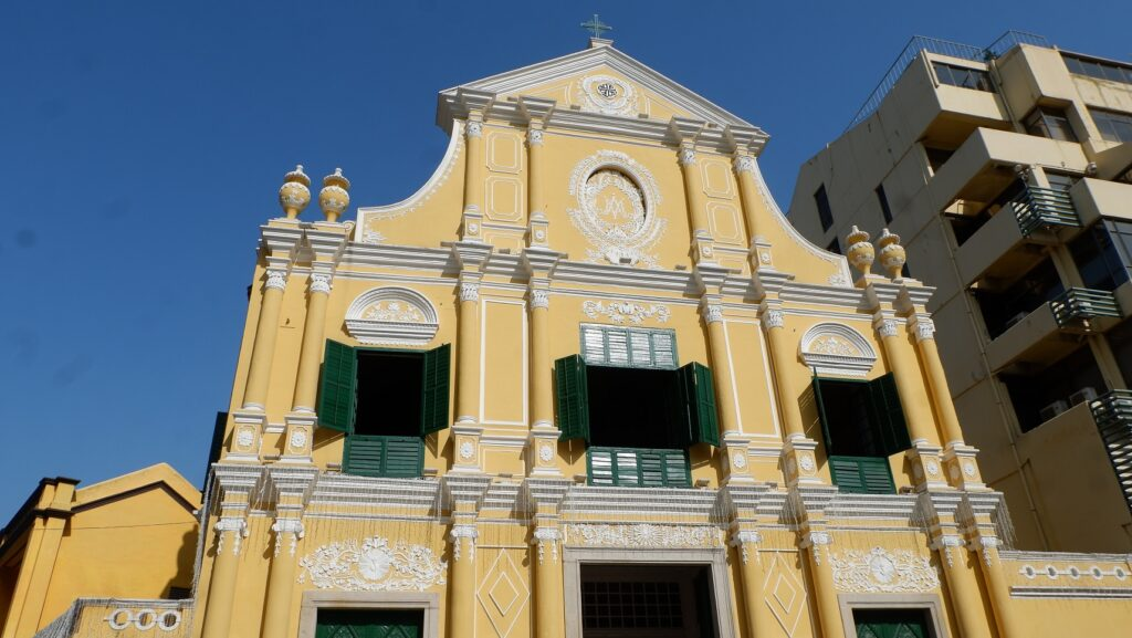 macau church