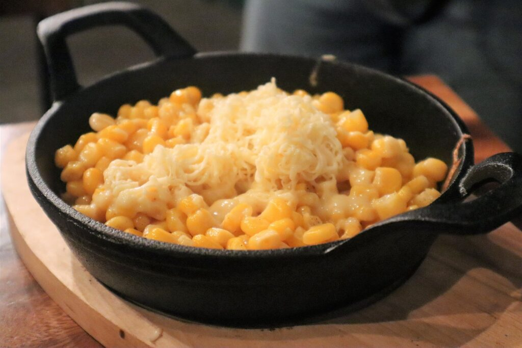corn with cheese